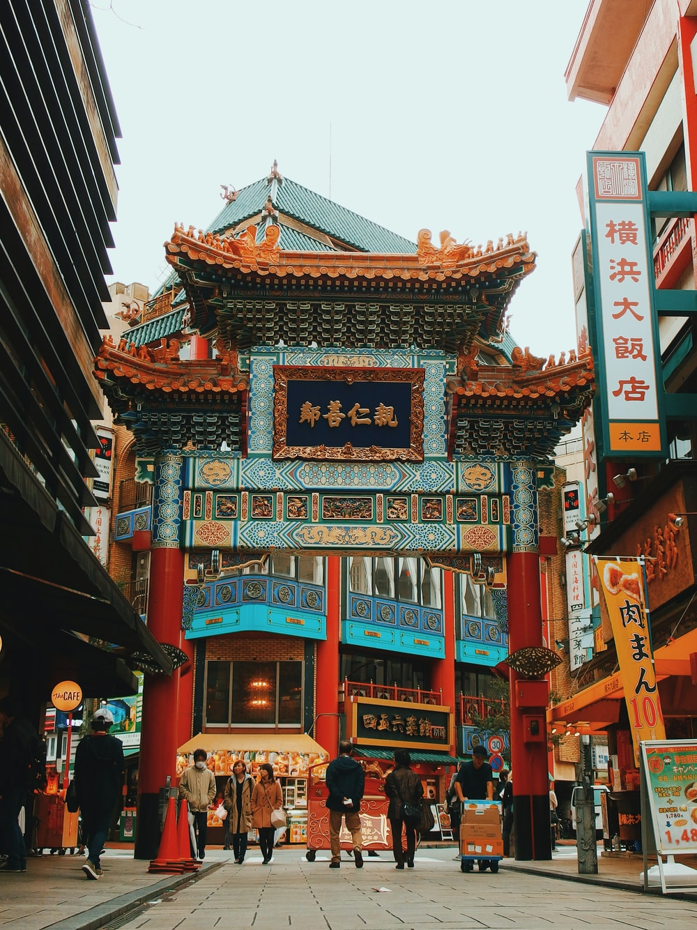 landscape photo of China town