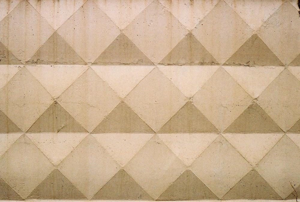 beige and white digital wallpaper