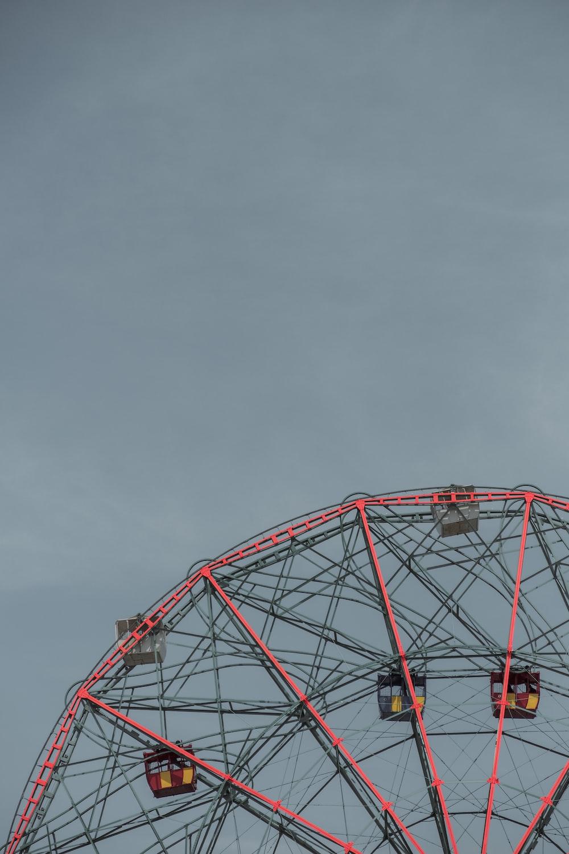 pink and gray Ferris Wheel photo