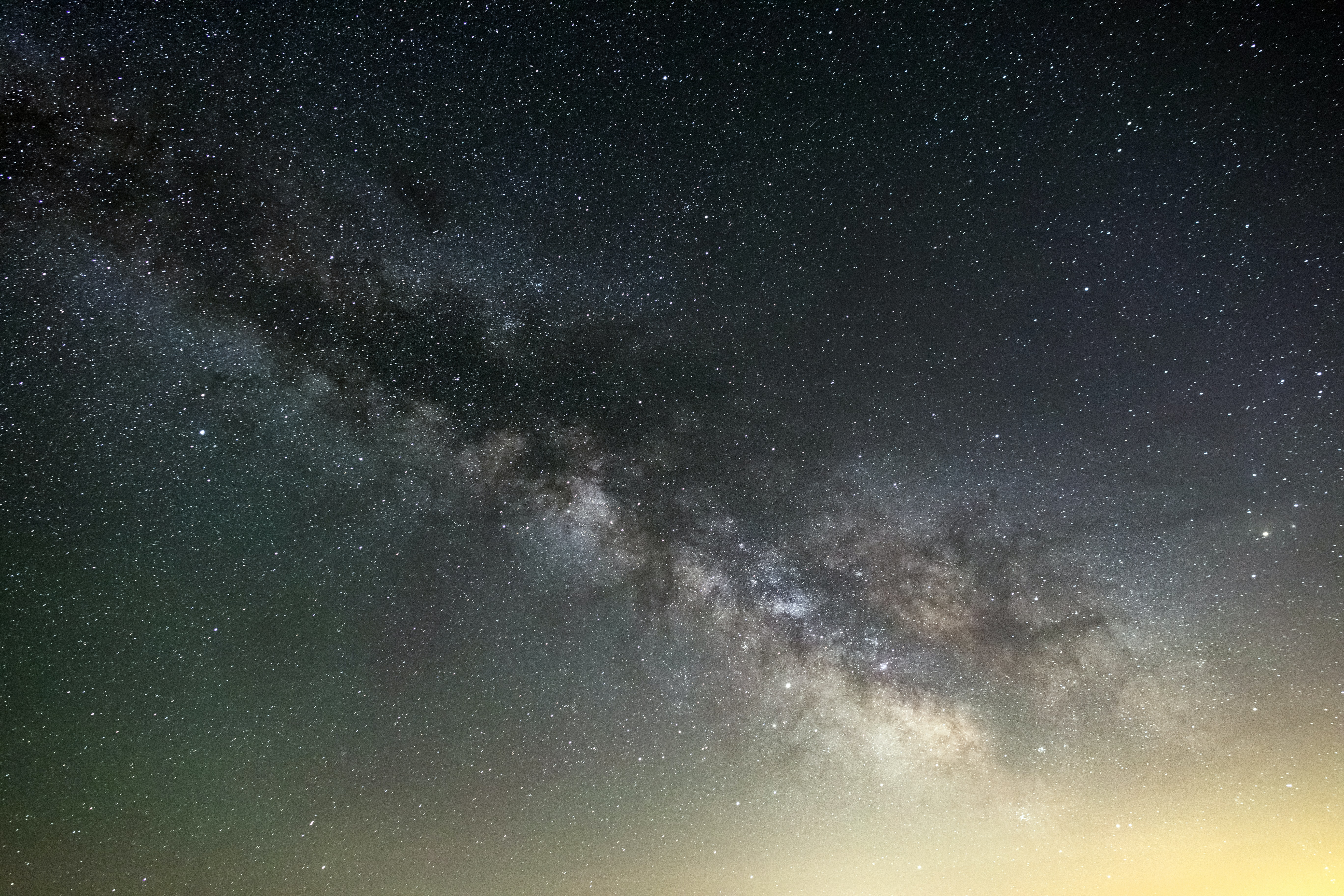 photo of milky way