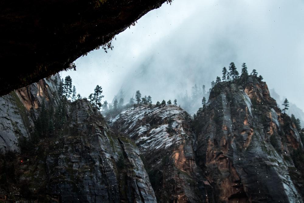 rock terrain photo