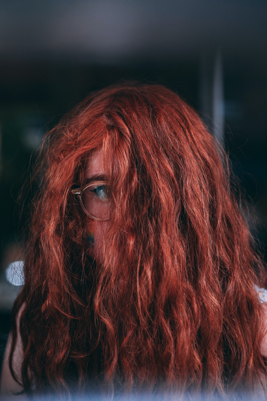 selective focus photograph of woman