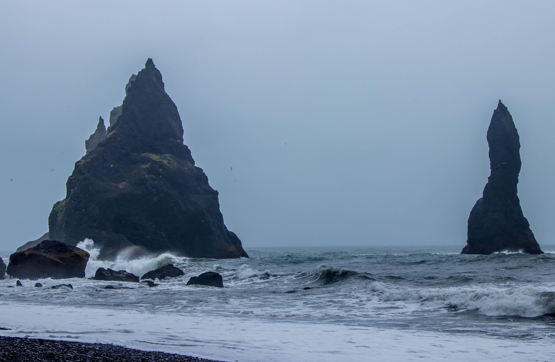 islets near beach shore