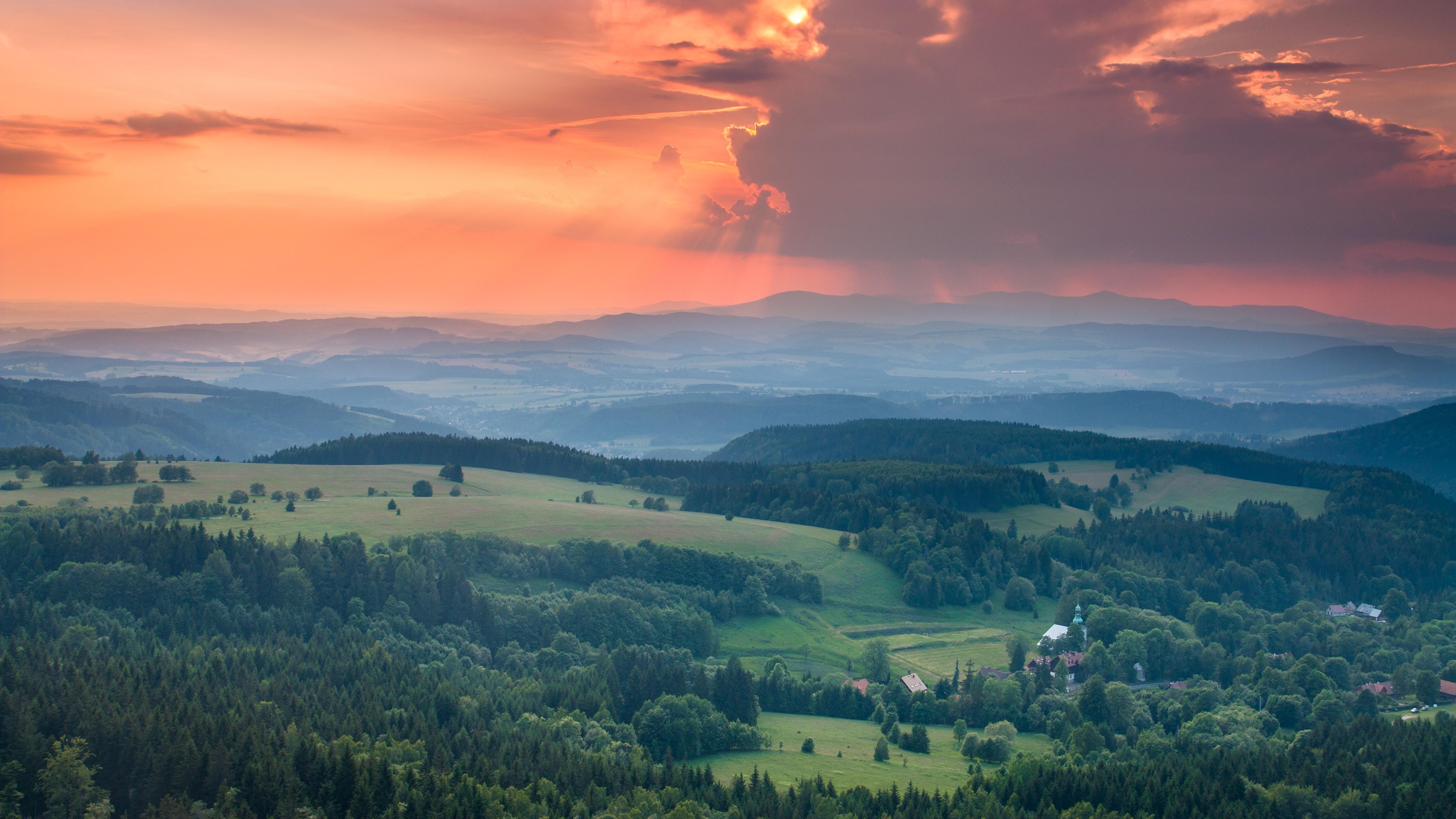 landscape photo of mountain