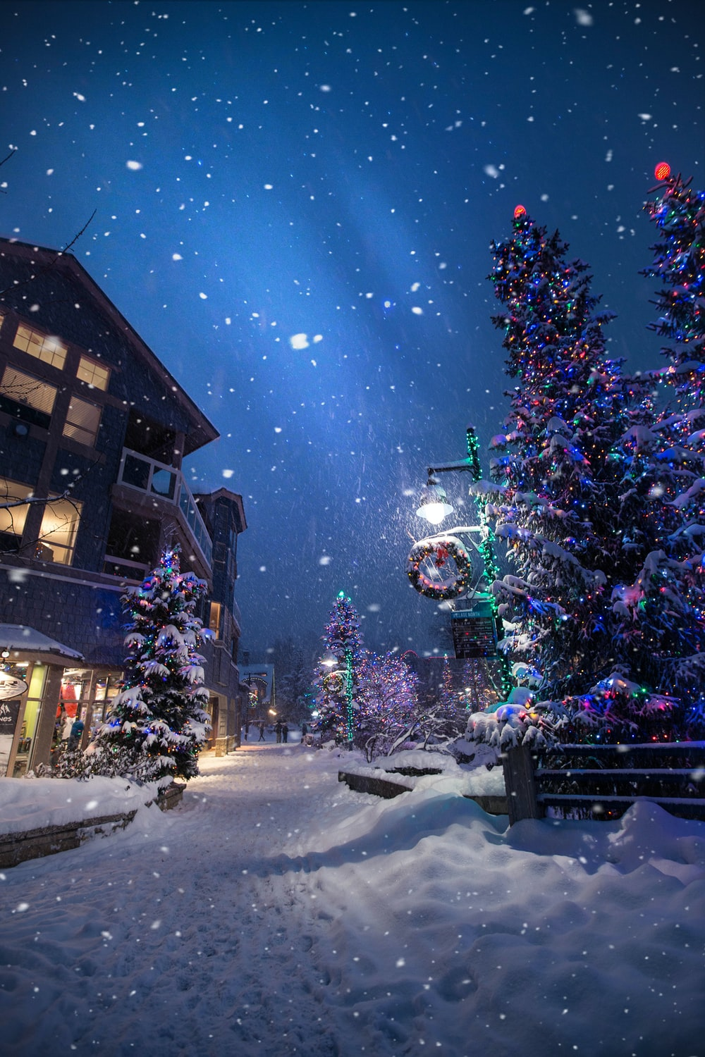 christmas village wallpaper - Images For Christmas
