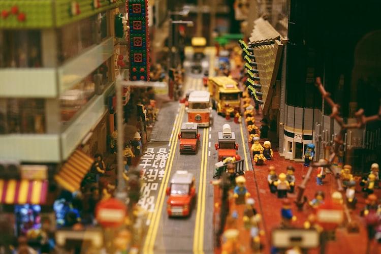 Lego Injection Molding Image