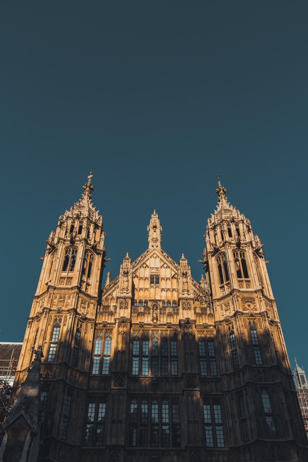 low angle photo of cathedral taken at daytime