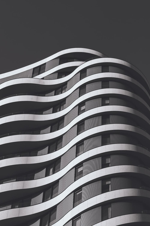 white and gray concrete structure photo