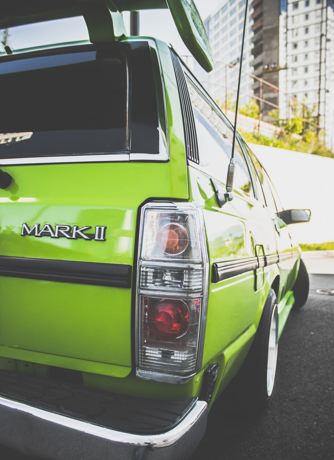 Green day with Toyota Mark II