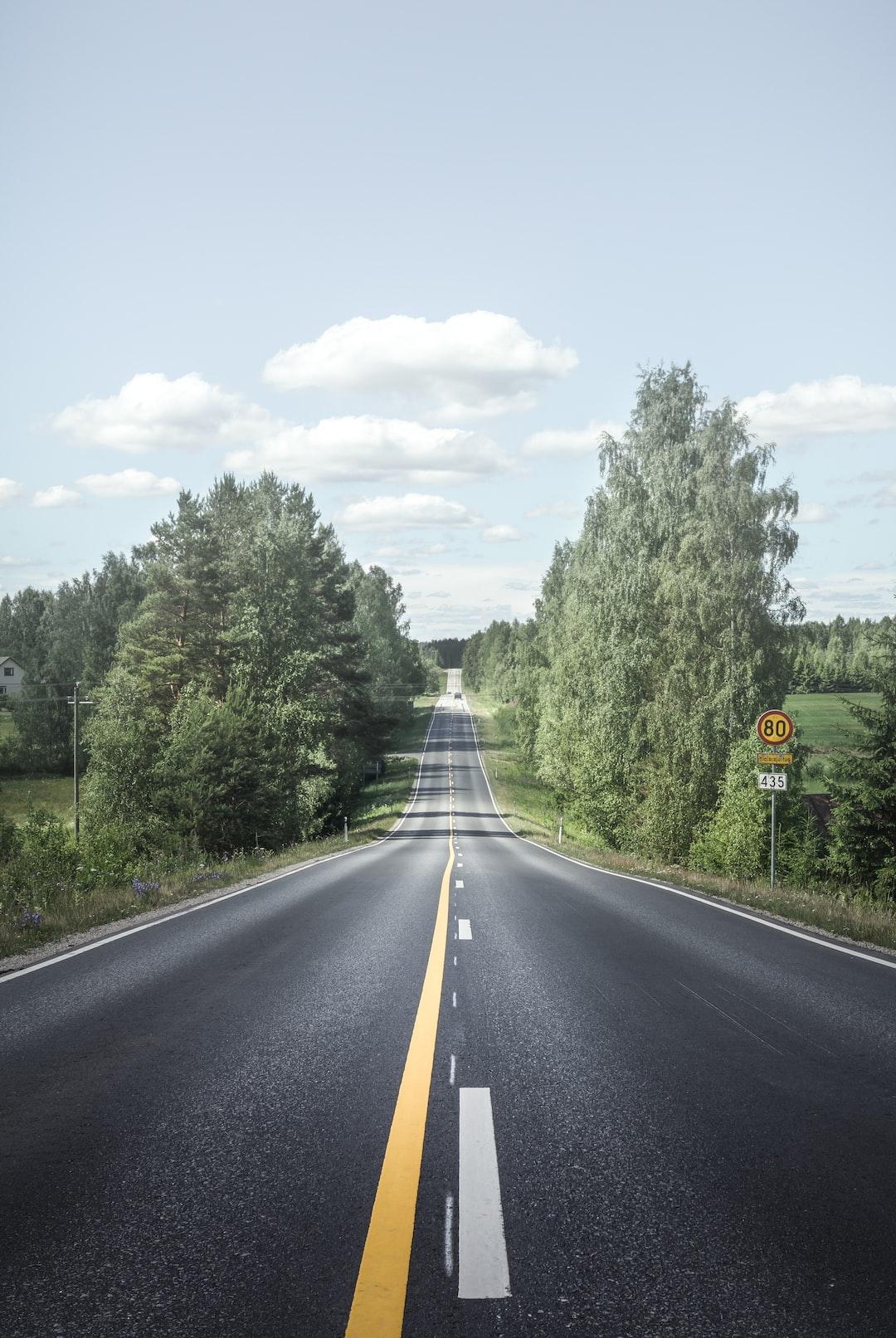 Nordic summer road