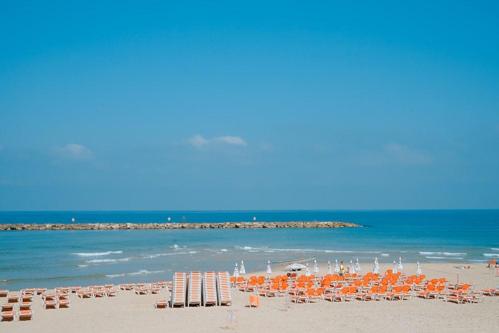 empty beach shore