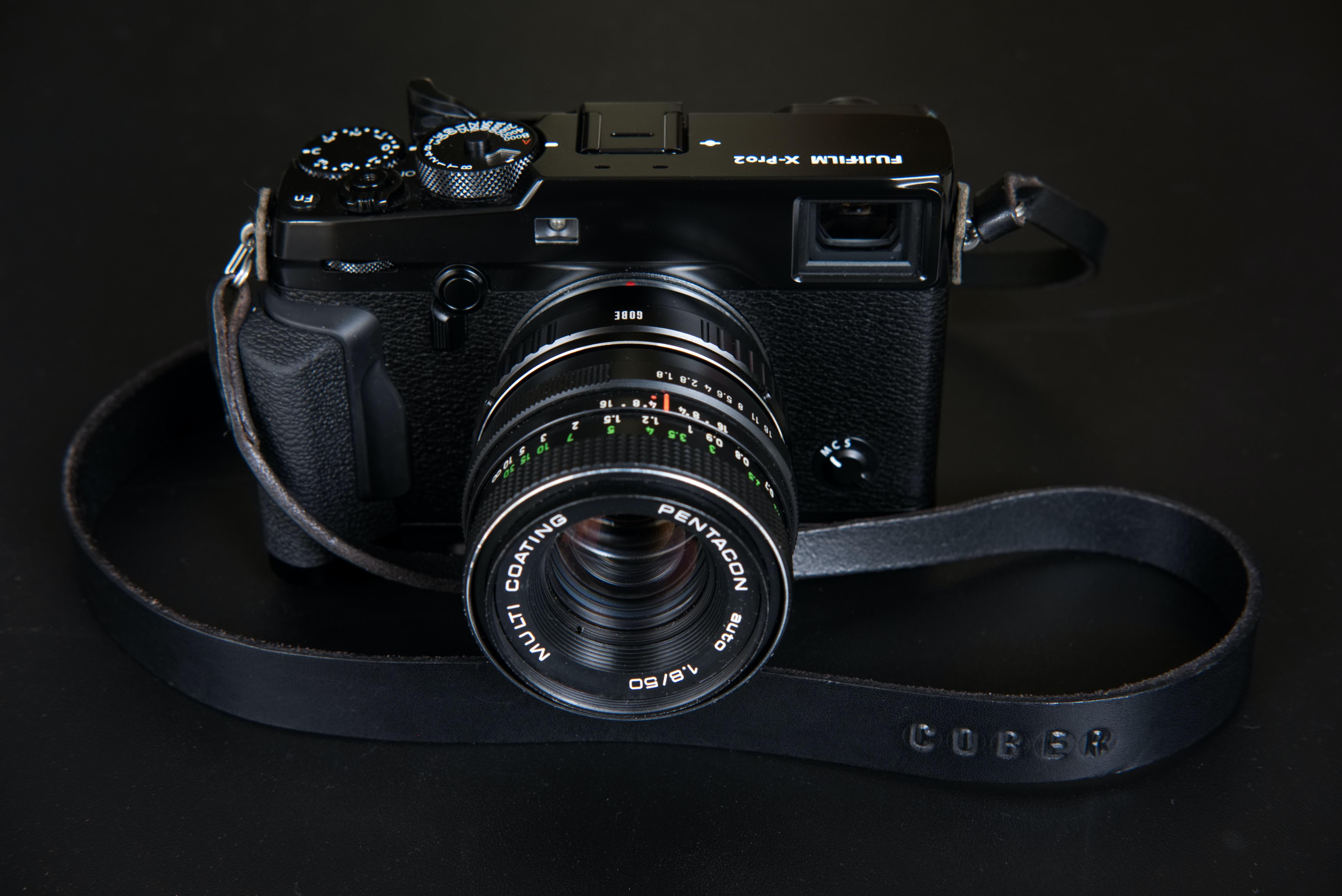 black film camera