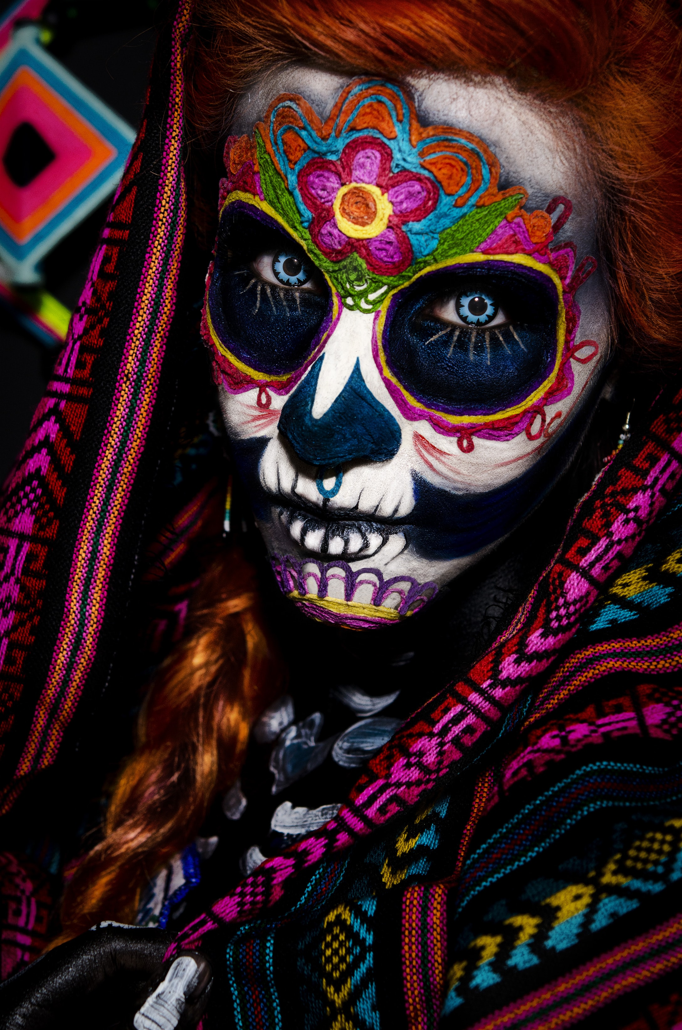Muerte face painting