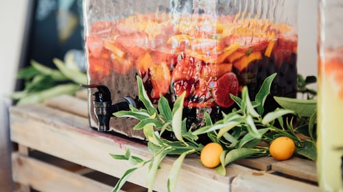 Surviving the Holiday Season with Sangria and Snacks