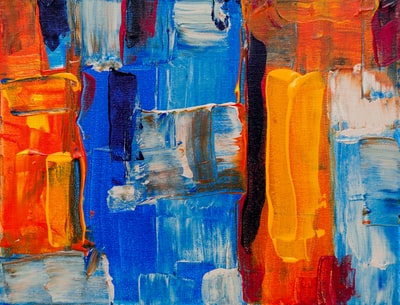 assorted-color abstract painting abstract expressionism zoom background