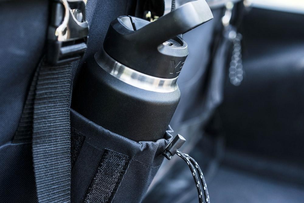 tumbler in backpack