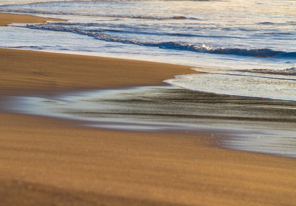 landscape photography of seashore