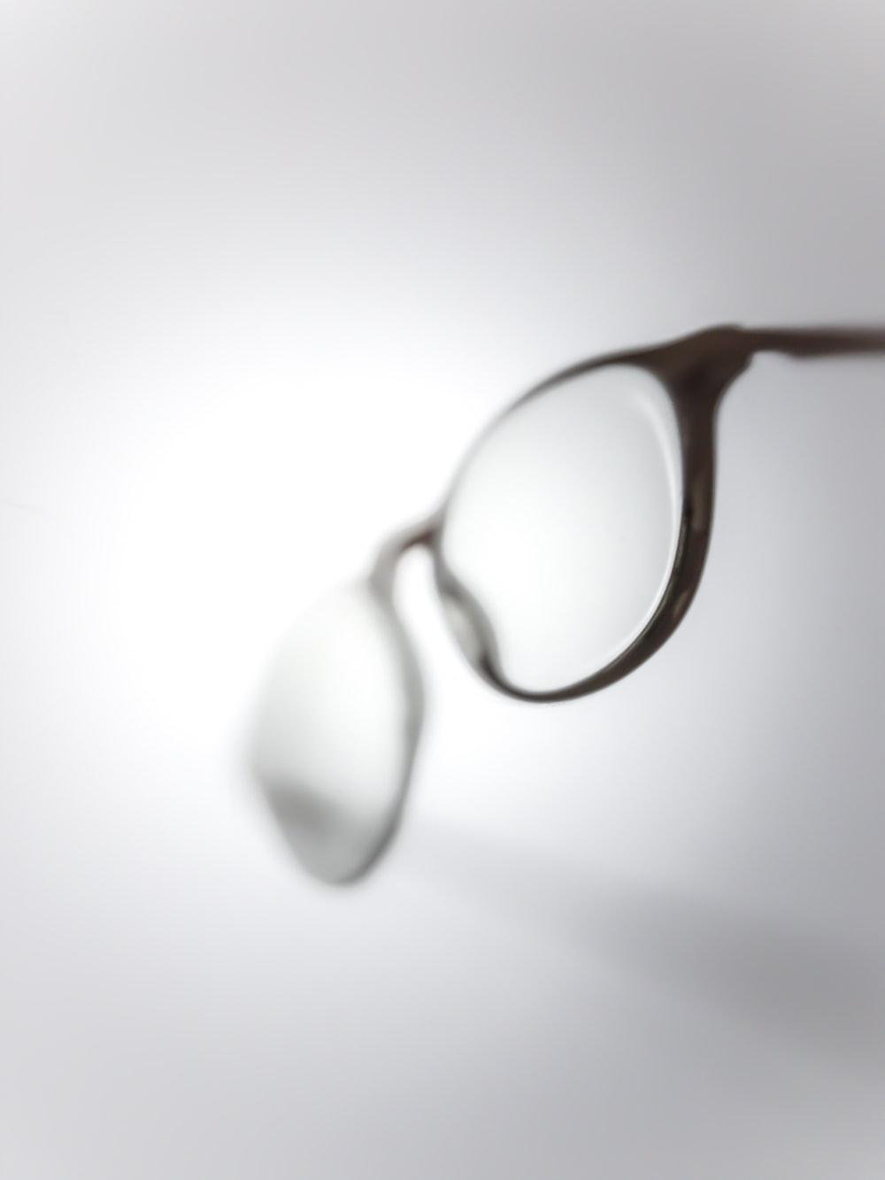 black framed reading glasses