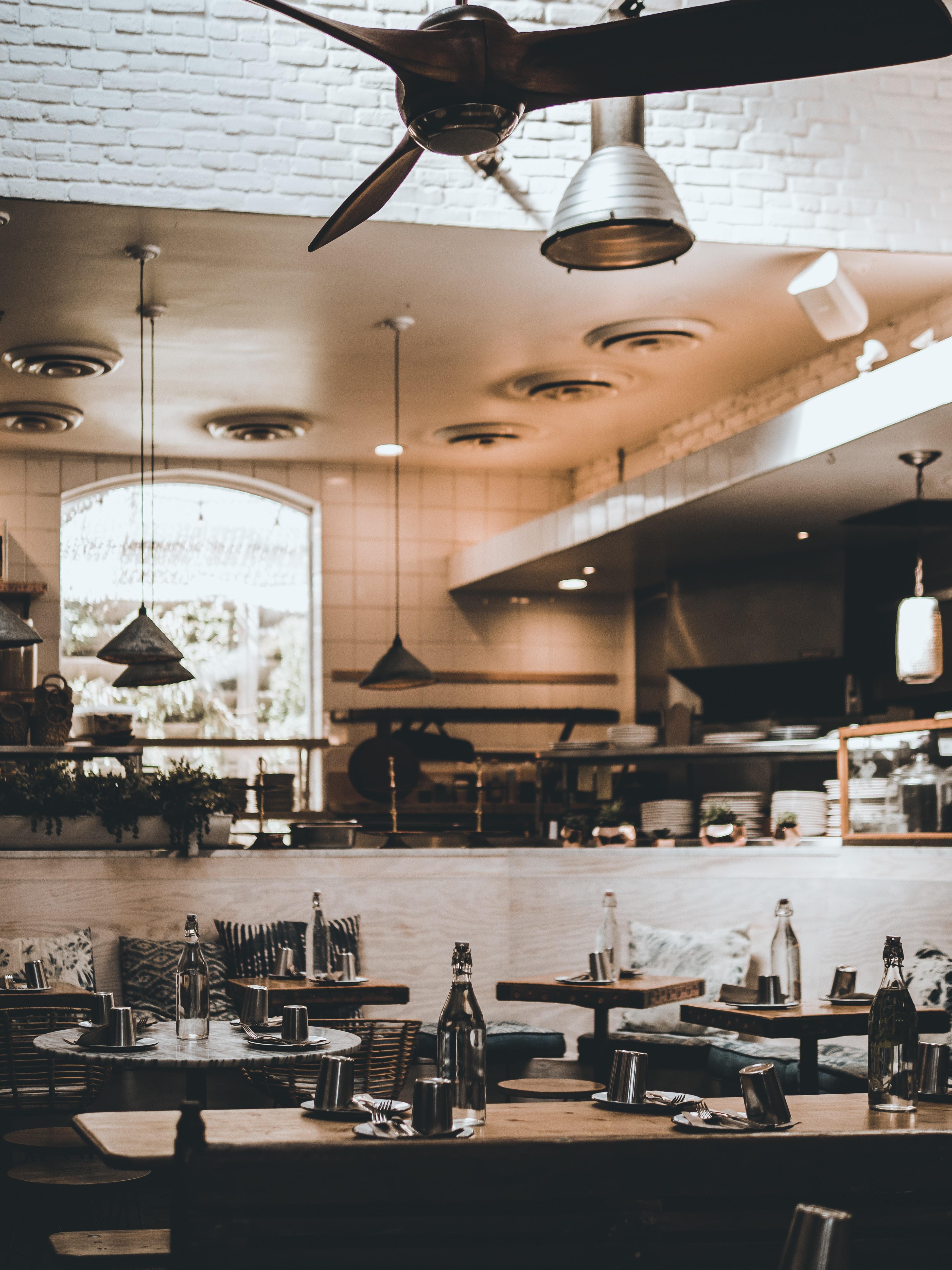 fine dining setup inside restaurant