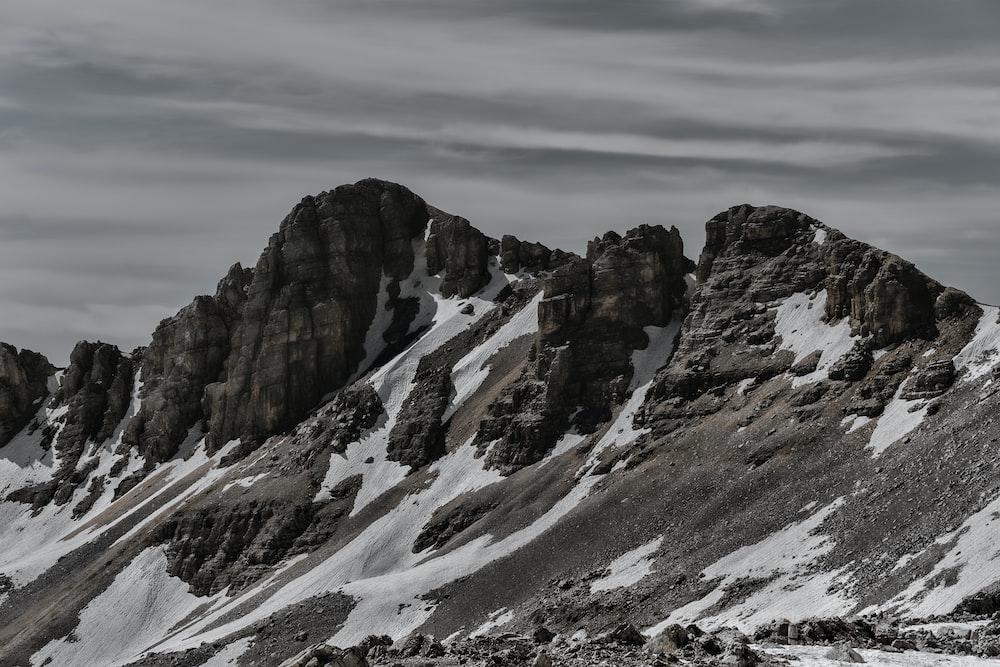 landscape photo of a mountain