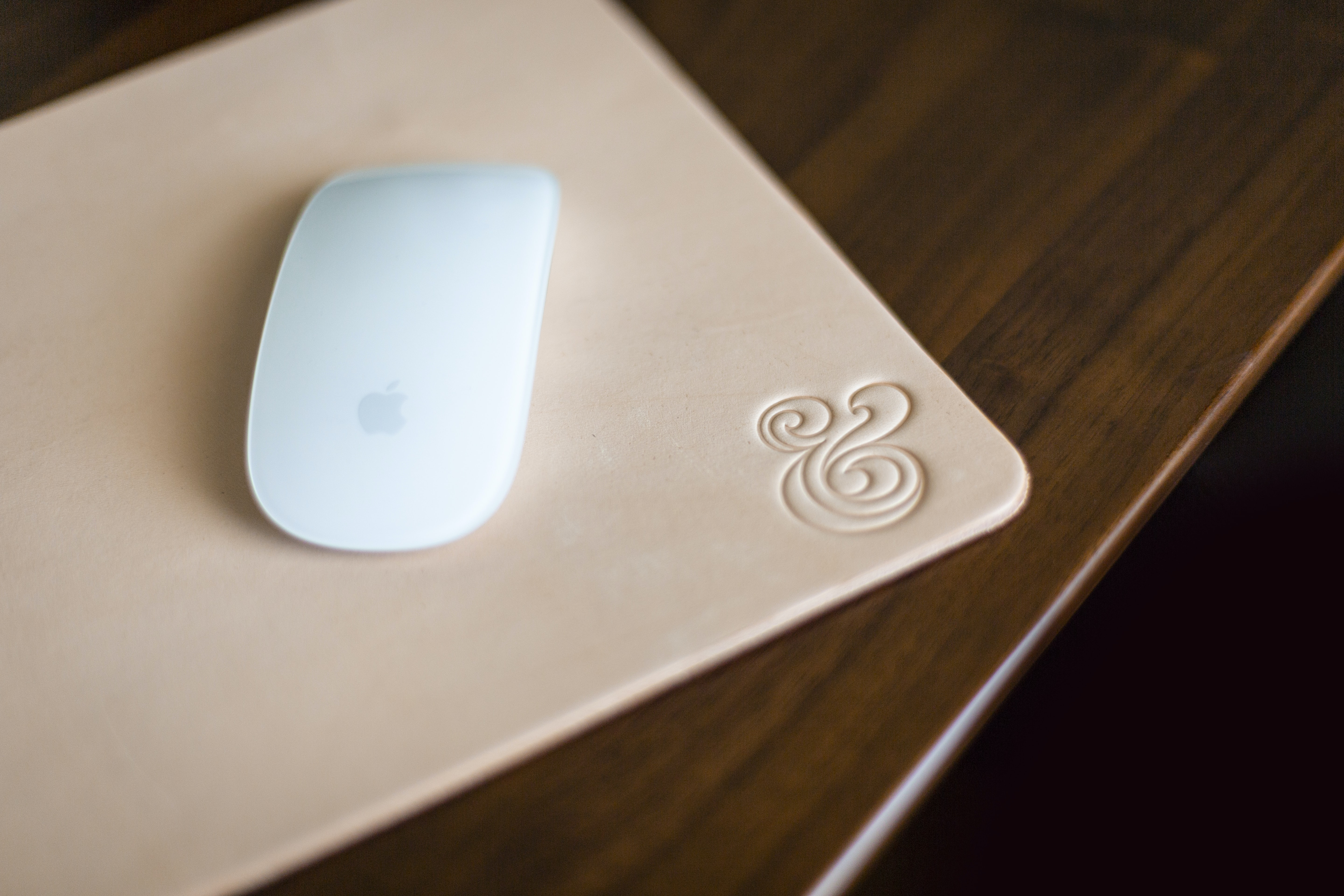 Magic Mouse on mat