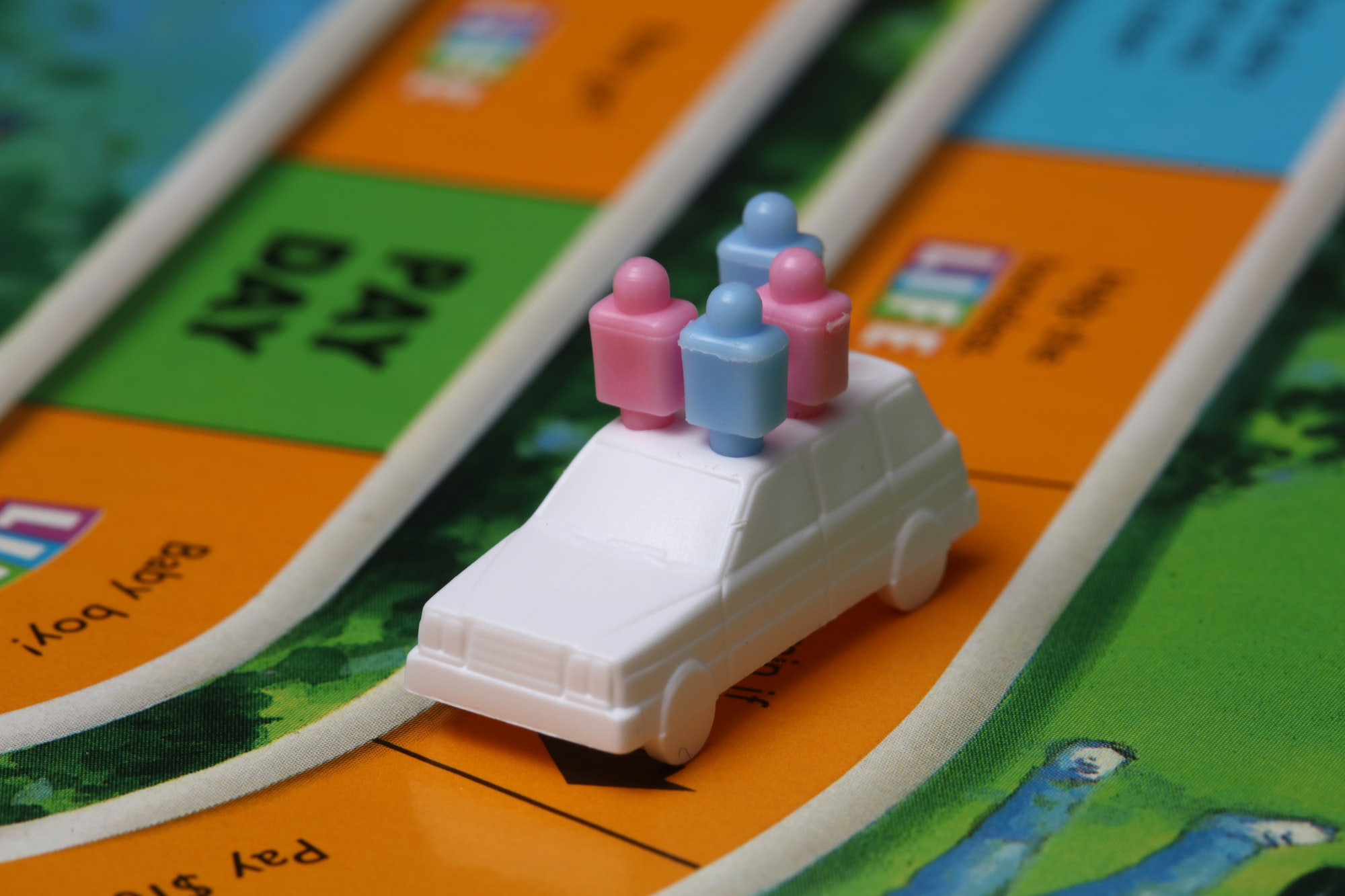 Game of life close-up