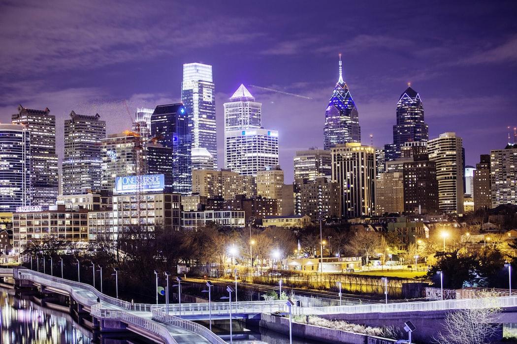 Electrifying city of Philadelphia