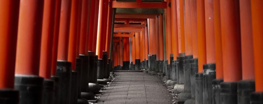 Japan, Kyoto: Fushimi Inari-taisha Schrein