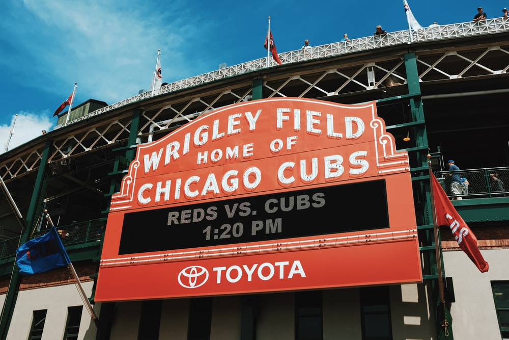 Wrigley Field Home of Chicago Cubs stadium