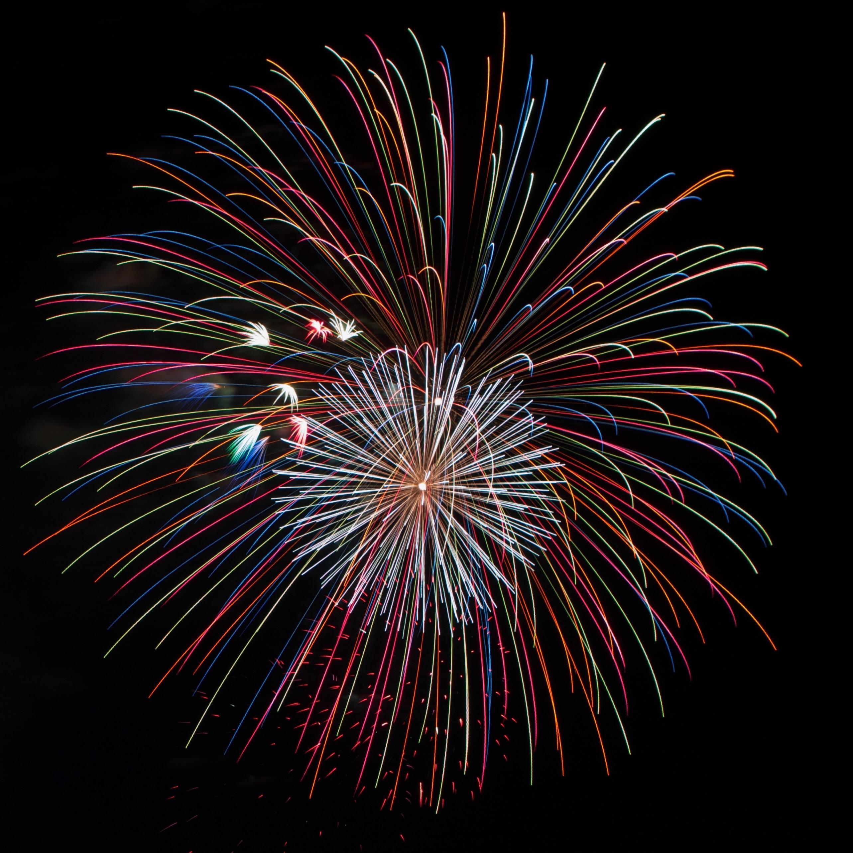 fireworks display wallpaper