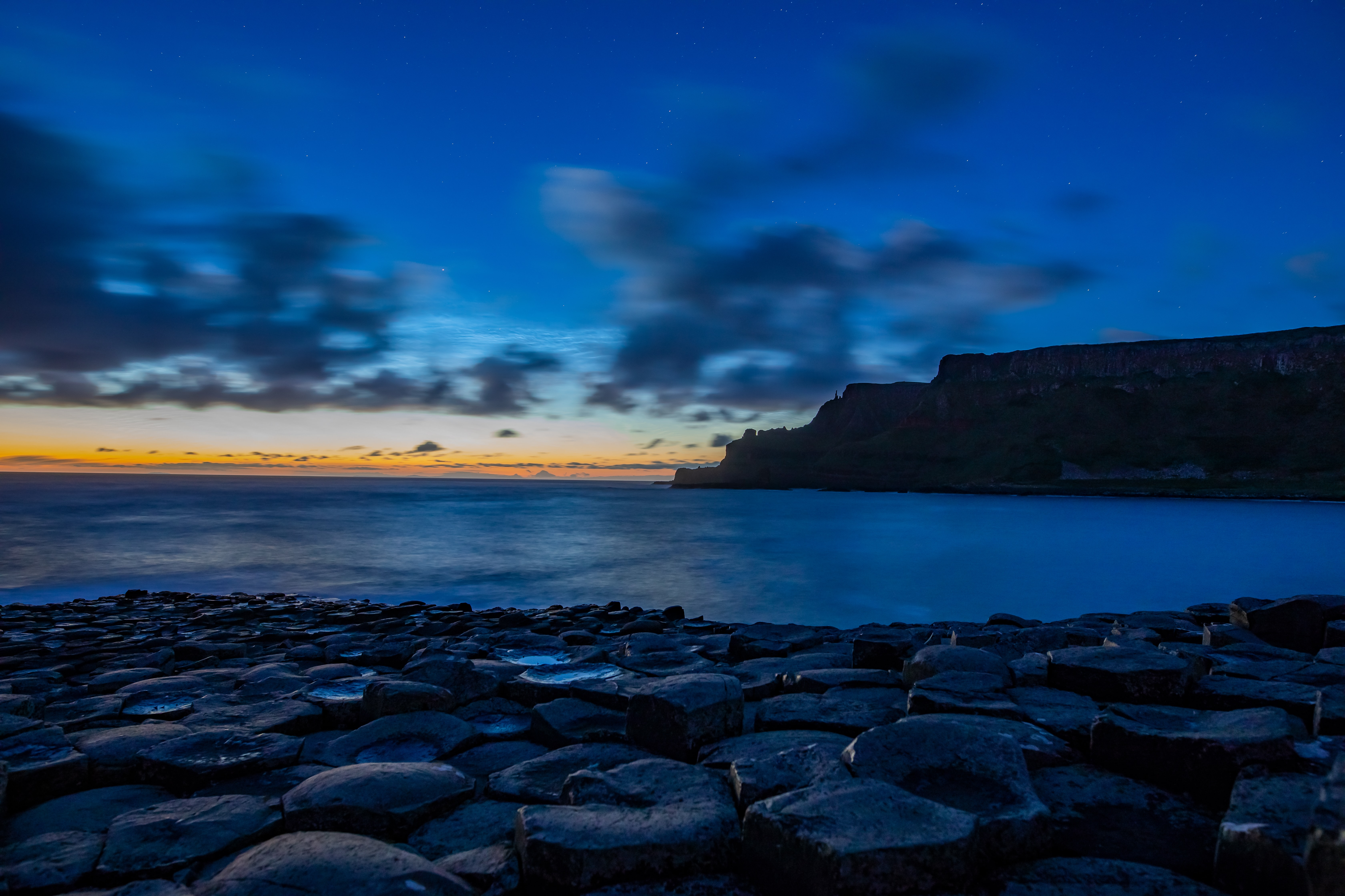 landscape photography of Giant's Causeway, Ireland