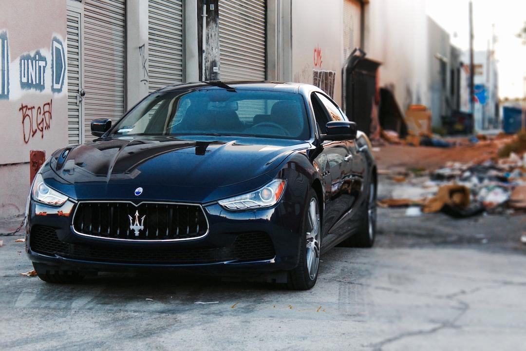 Photo taken downtown Los Angeles, CA - 2015 Maserati Ghibli