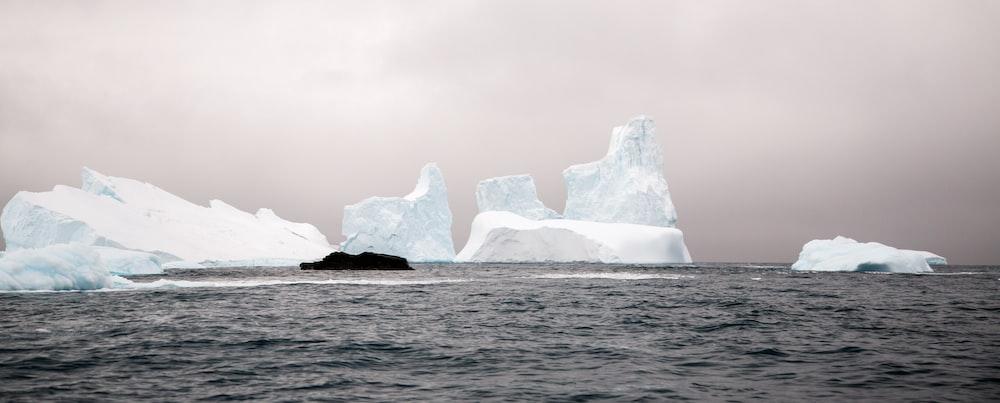 landscape photo of iceberg