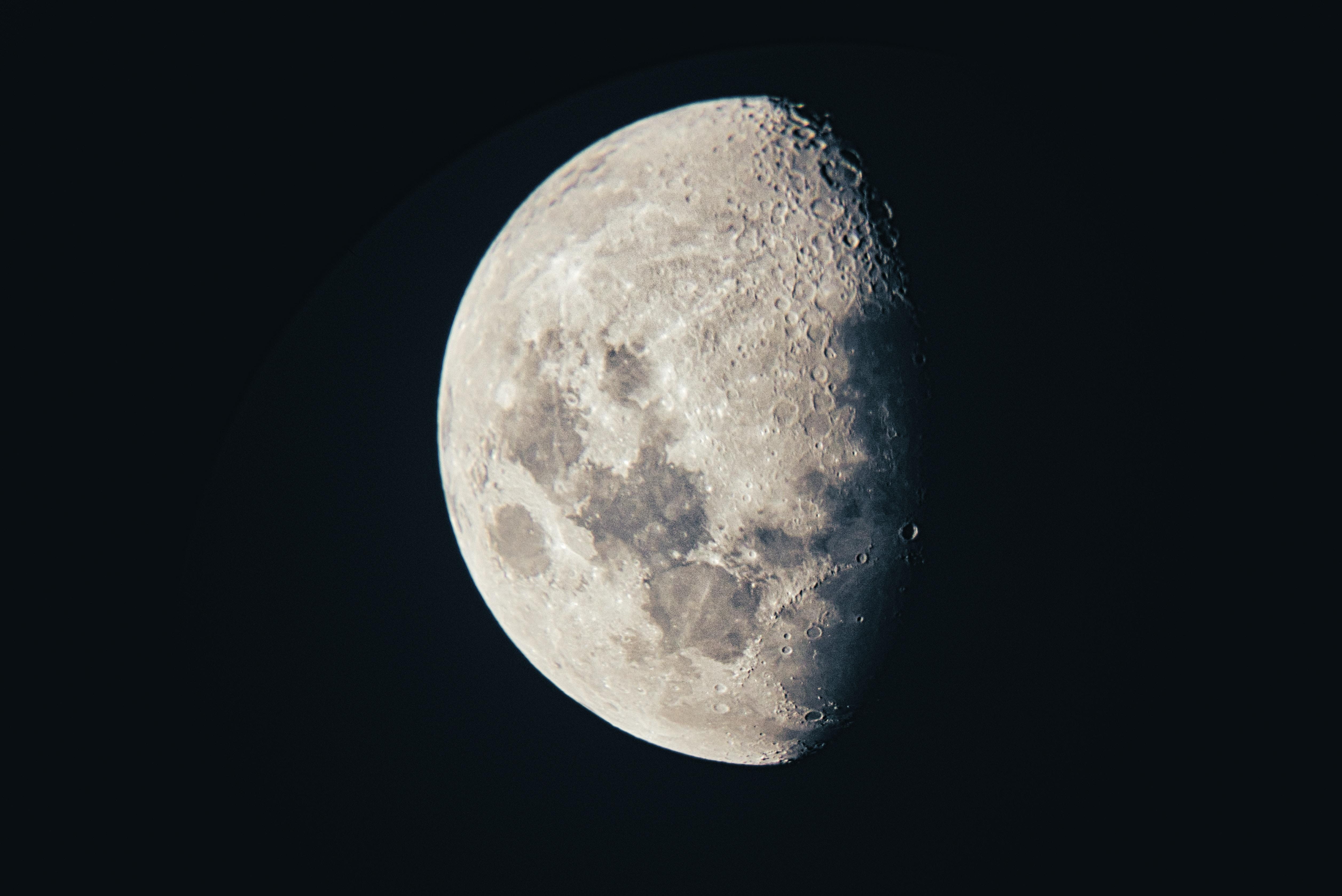scenery of moon