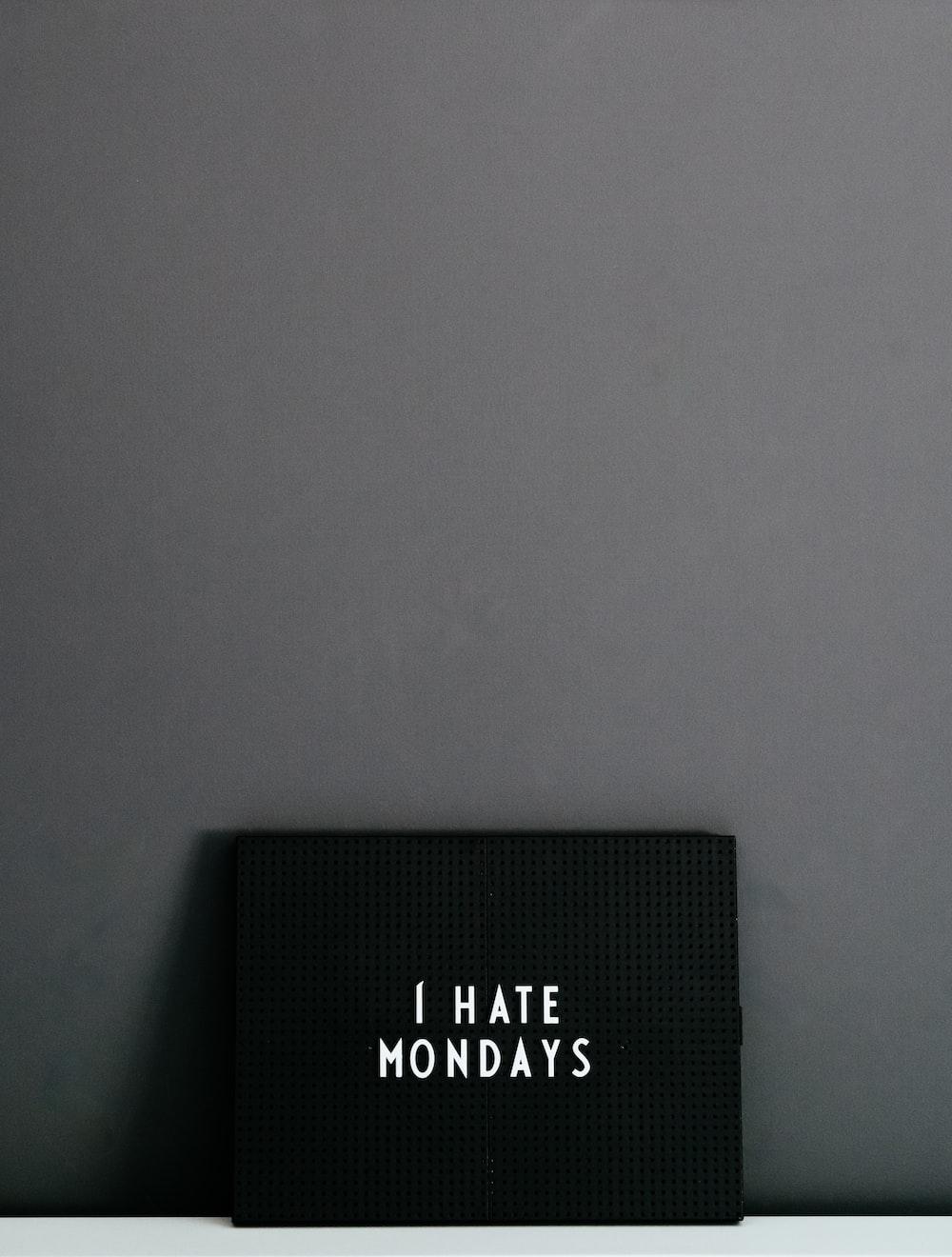 black box on white surface