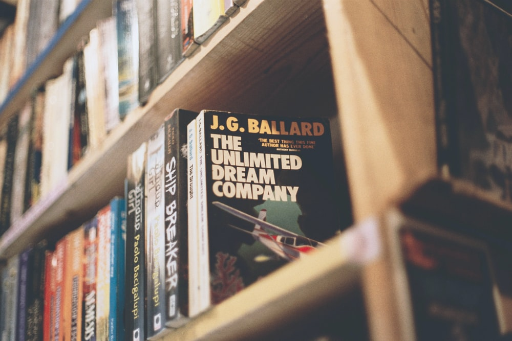 The Unlimited Dream Company by J.G. Ballard book