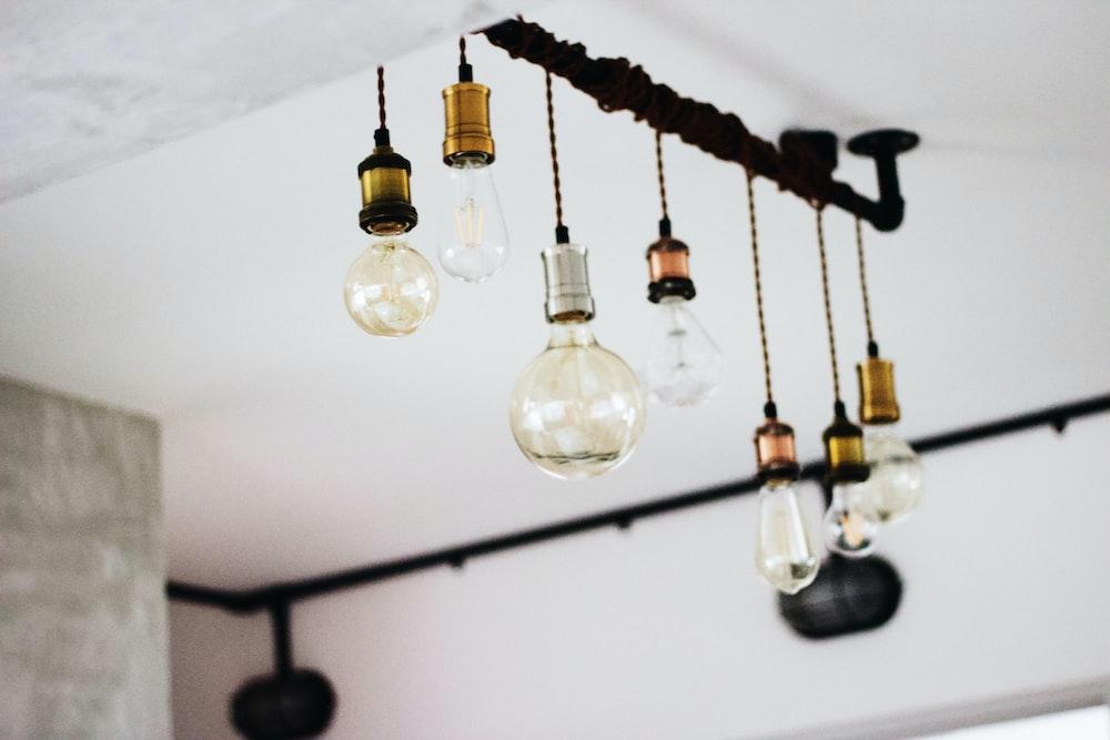 clear glass bulb decoration