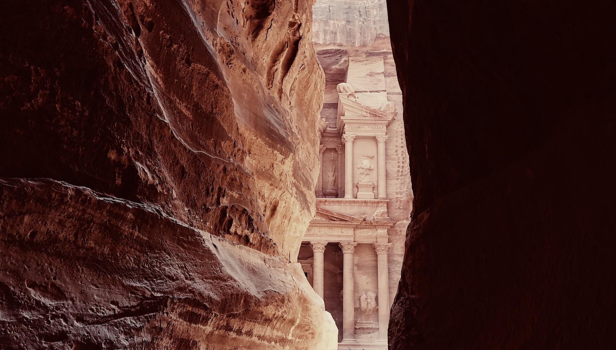 classifica siti UNESCO nel mondo Petra Giordania