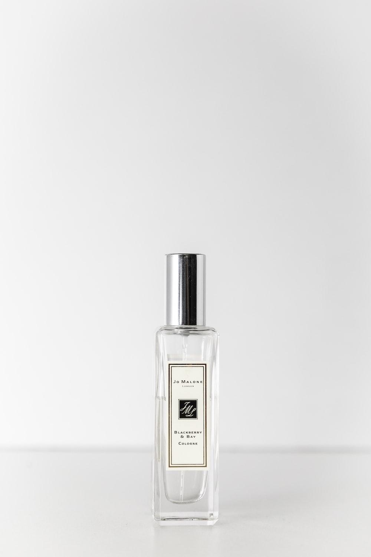 Jo Malone fragrance bottle on white surface