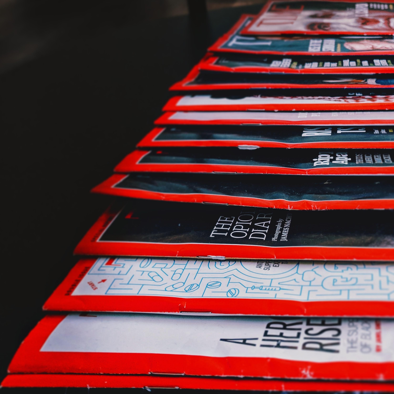 assorted magazine lot