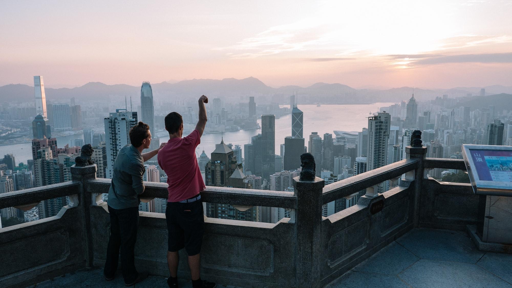 Top of Hong Kong