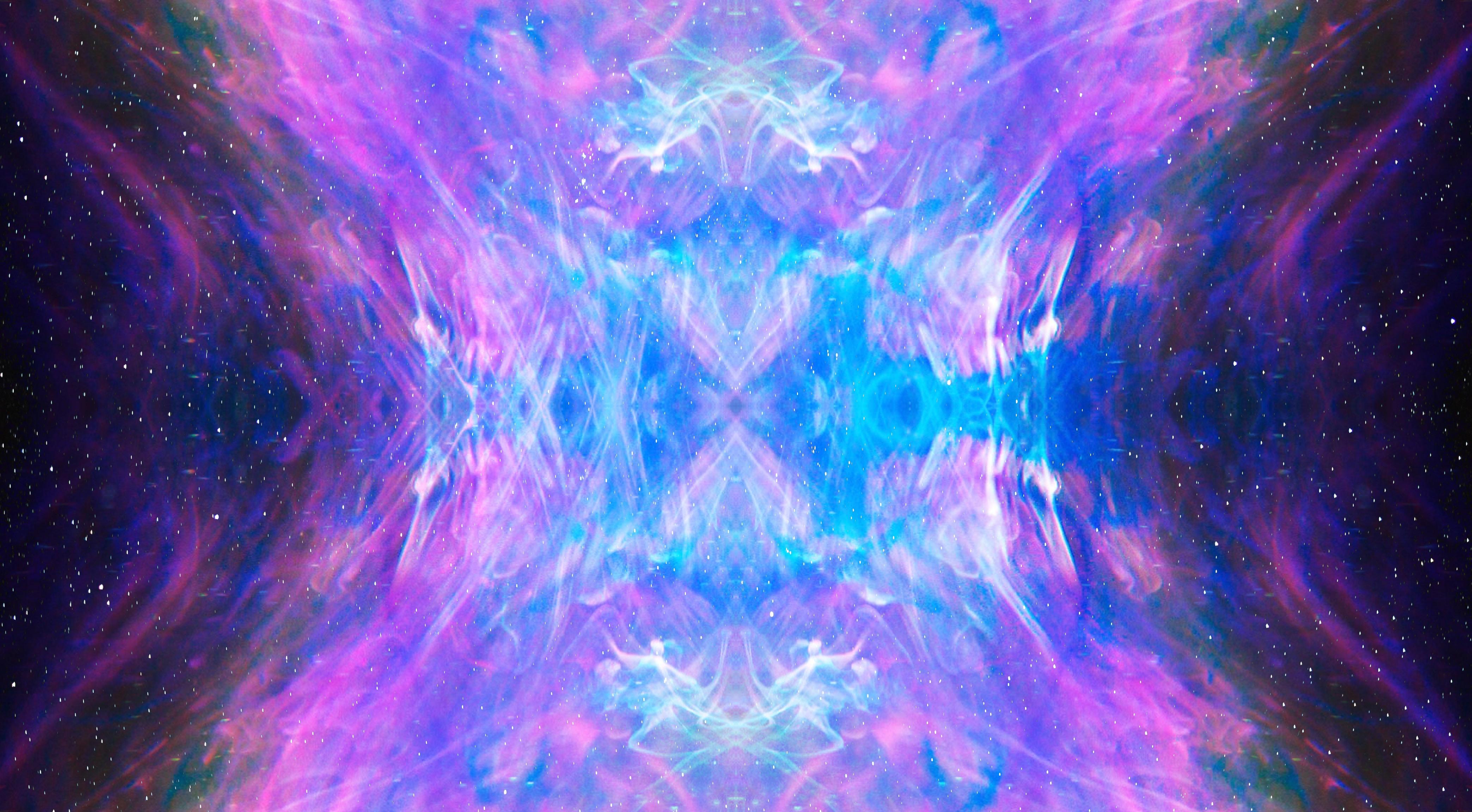 purple and pink illusion artwork
