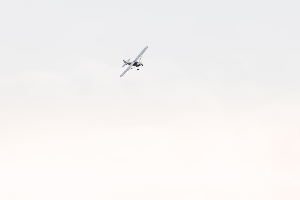 aircraft flying on sky