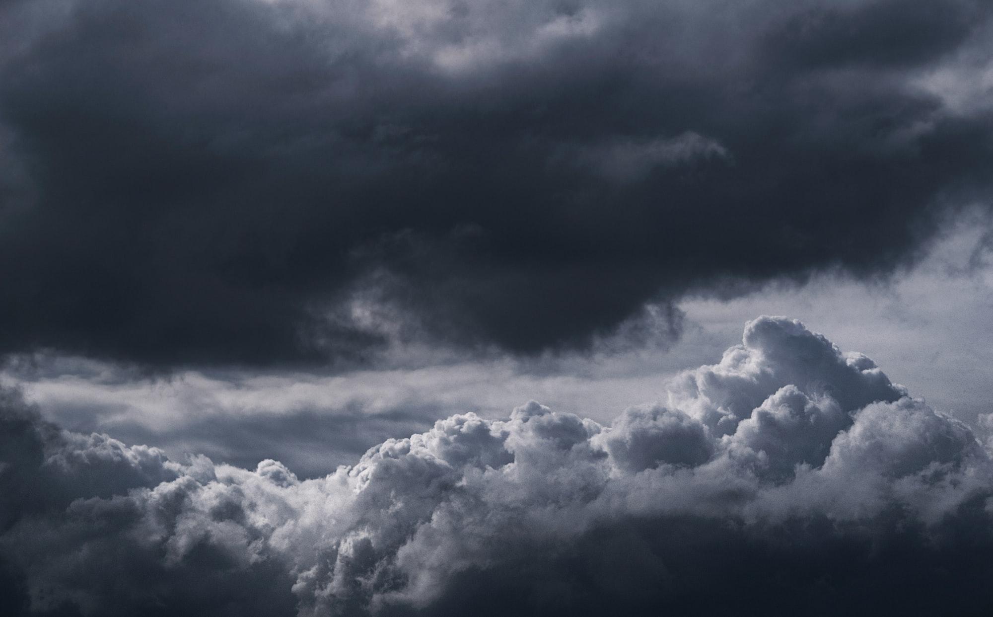 Штормовые облака помогут сделать удачное фото
