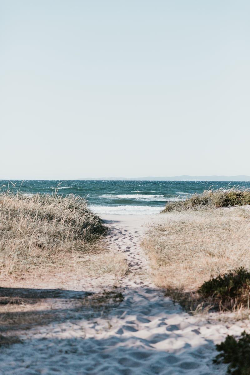 北欧デンマークの海辺