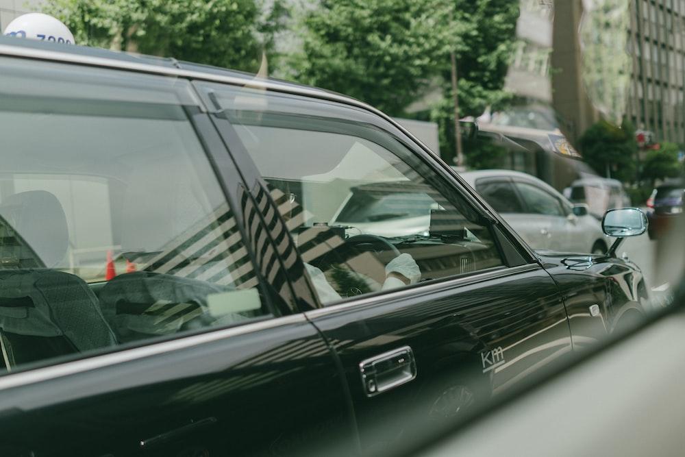 photo of black car