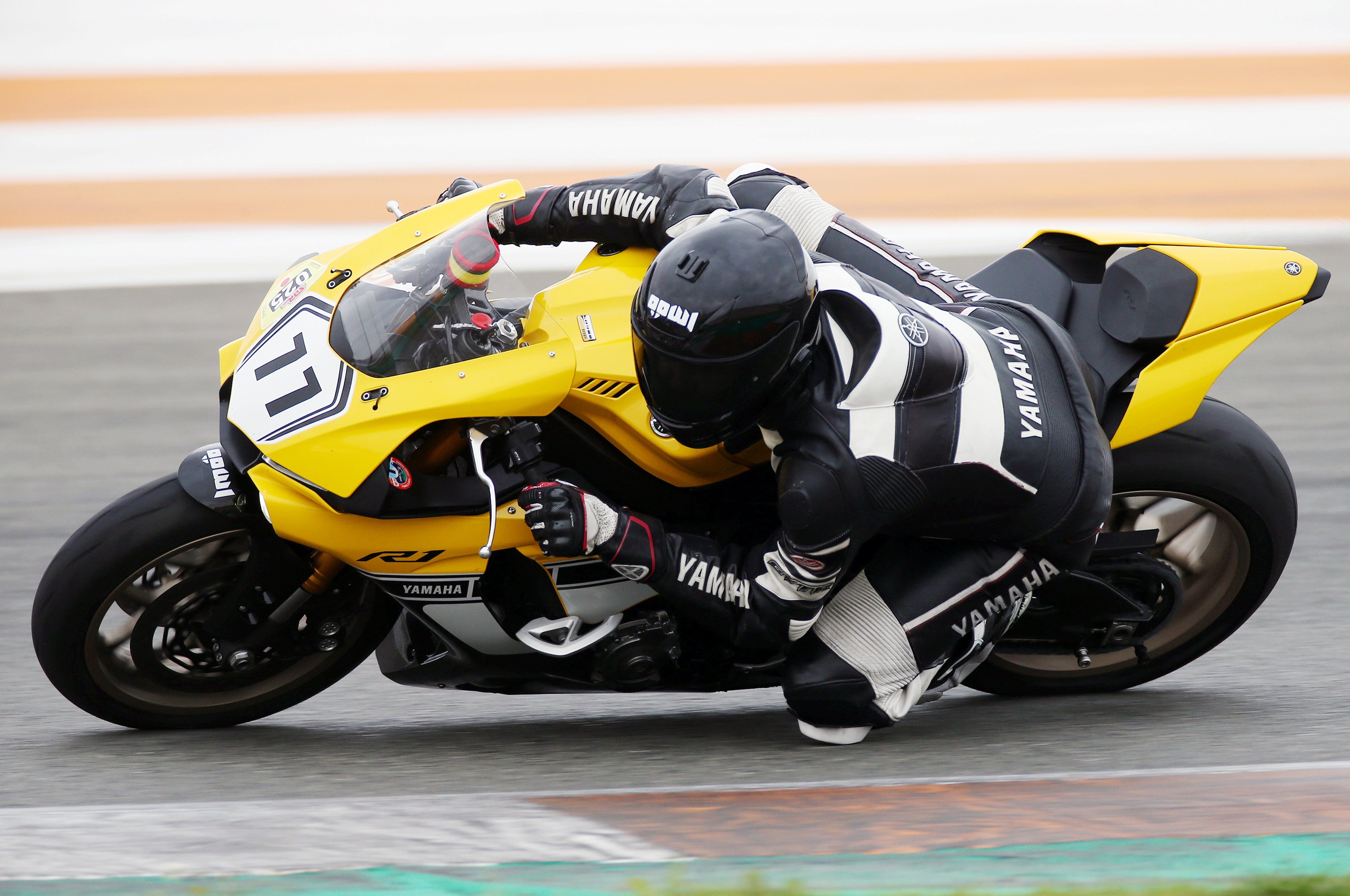 Motorcycle Racer Being Fearless and Maintaining Composure