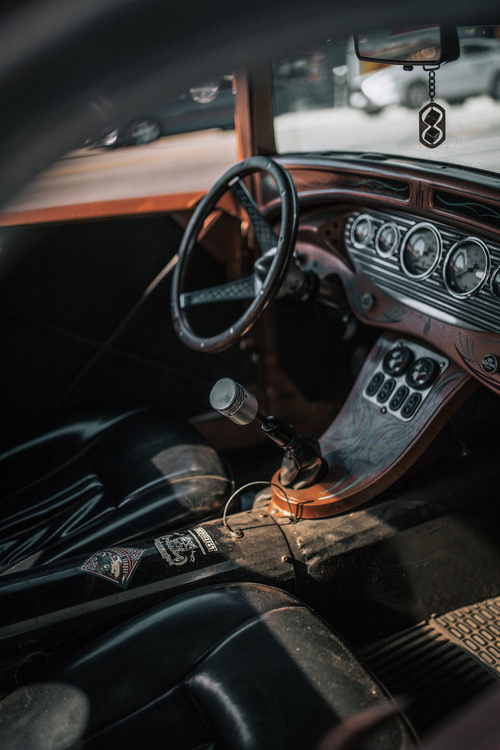 vehicle interior photography