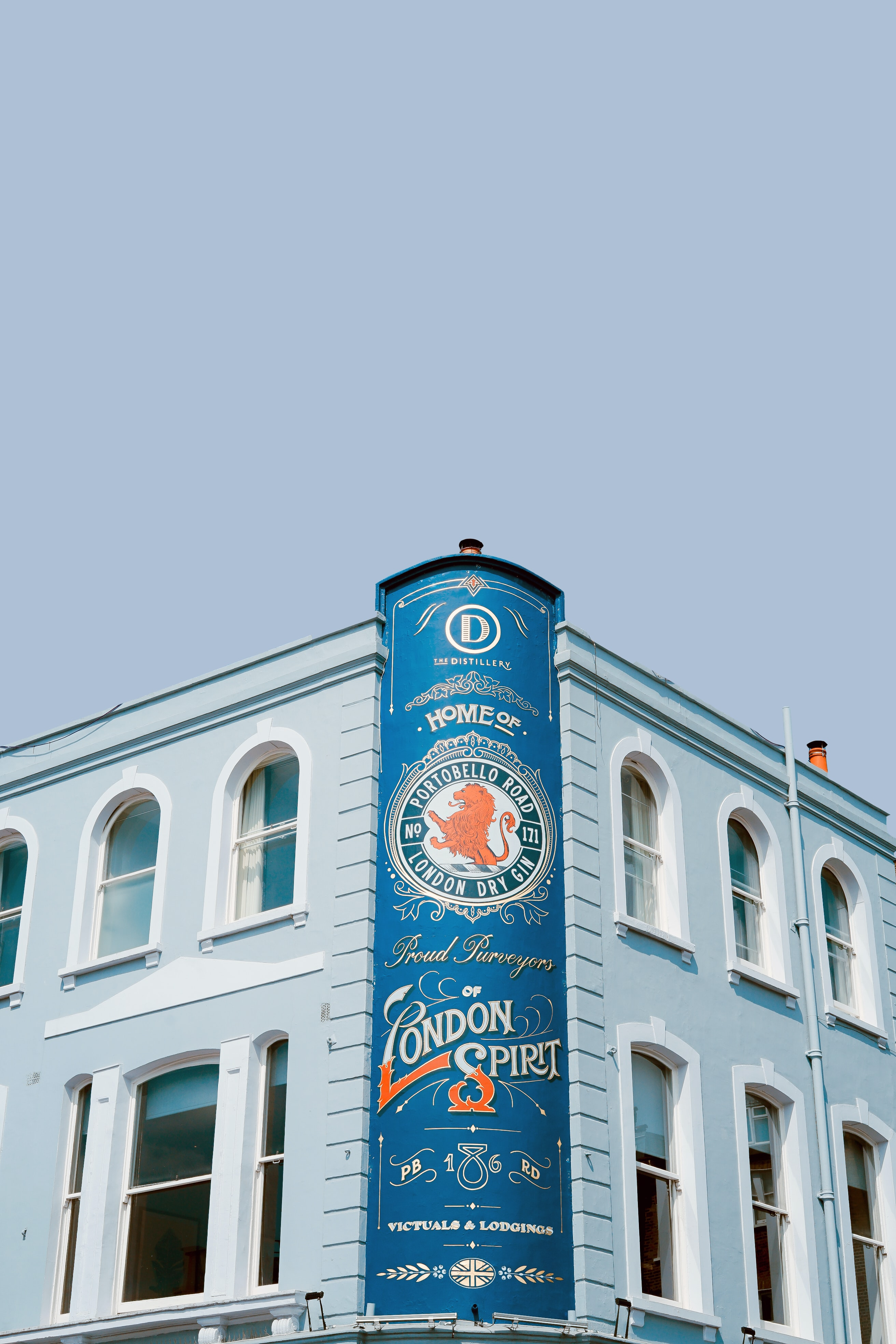 blue Home of Proud of London Spirit banner