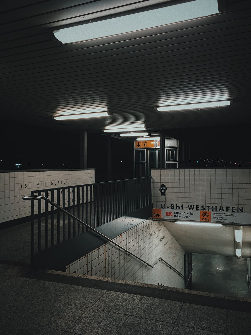 subway station entrance